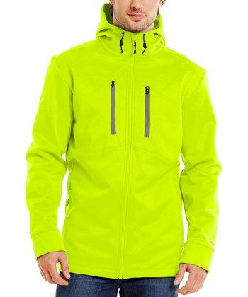High-Vis Yellow Coldgear® Infared Softershell Jacket - Men & Tall