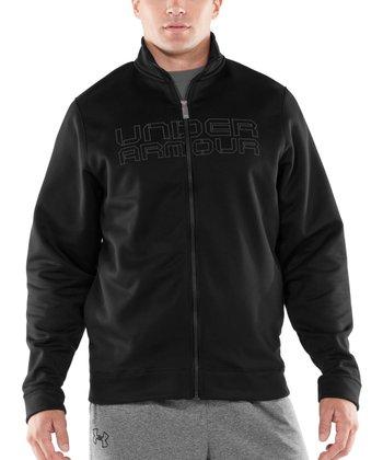 Black Storm Armour® Fleece Zip-Up Jacket - Men & Tall