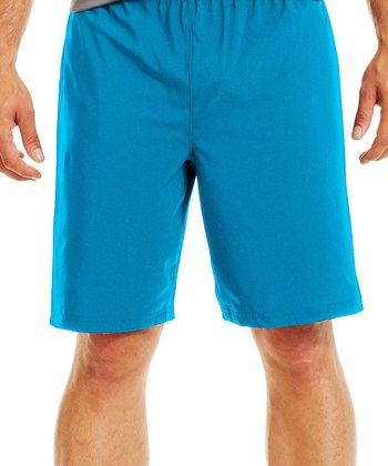 Pirate Blue Mirage Shorts - Men & Tall