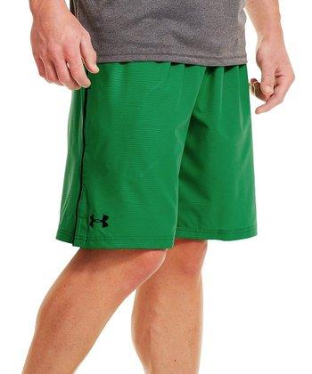 Astro Green Mirage Shorts - Men & Tall