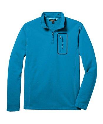 Pirate Blue Extreme ColdGear® Lite Pullover - Men