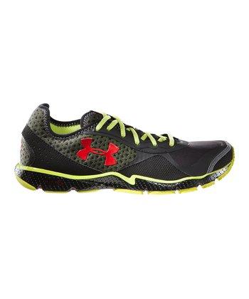 Black FTHR Shield Running Shoe