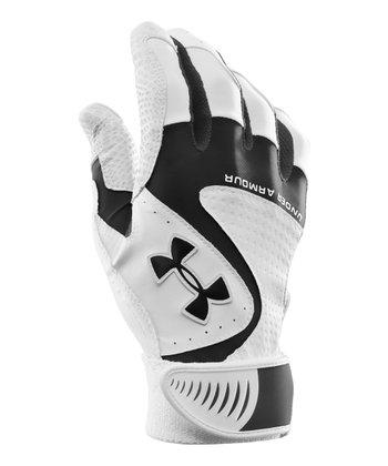 Black UA Yard VI Baseball Gloves