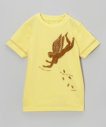 Yellow Eros Tee - Infant, Toddler & Kids