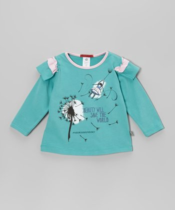 Aqua 'Beauty' Tee - Infant, Toddler & Kids