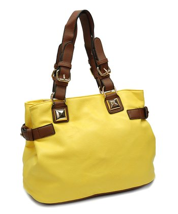 Lemon Giant Stud Tote