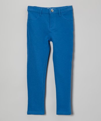 Royal Blue Stretch Jeans - Toddler & Girls