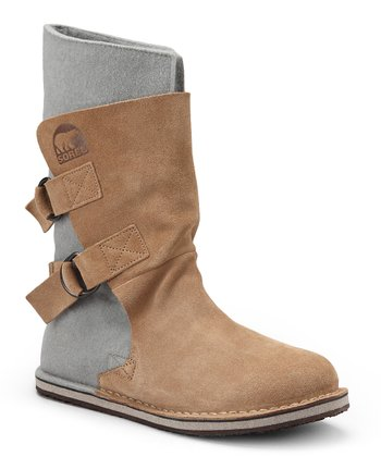 British Tan Chipahko Felt Boot