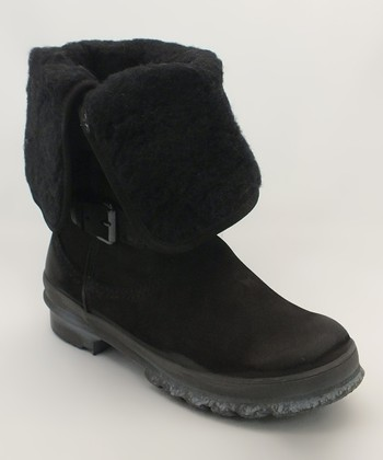 Black Fargo Boot