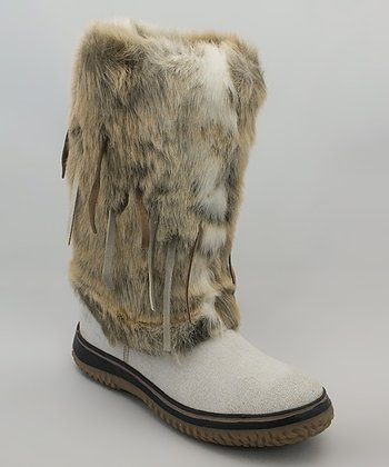 Off-White Fun Fur Boot