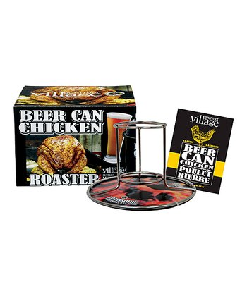 Beer Can Chicken Roaster & Seasoning MIx