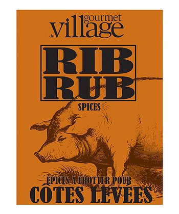 Rib Seasoning Rub – Set of Four