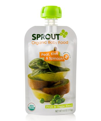 Pear, Kiwi & Spinach Stage 2 Baby Food - Set of 10