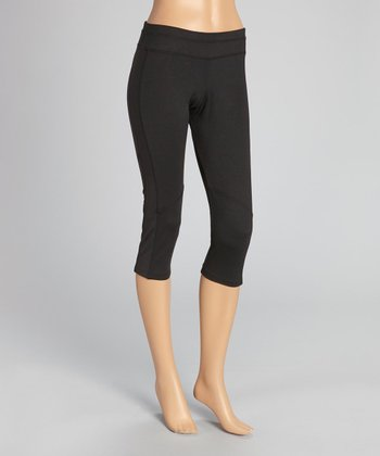 Black Advantage Capri Pants - Women