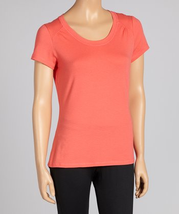 Coral Rose Tee - Women & Plus