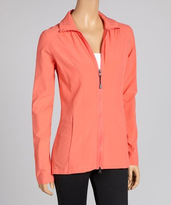 Coral Rose Pursuit Track Jacket - Women & Plus