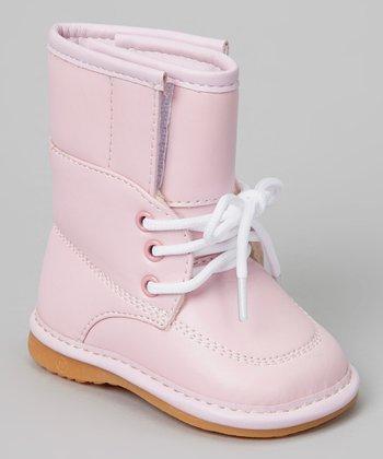 Laniecakes Pink Squeaker Boot