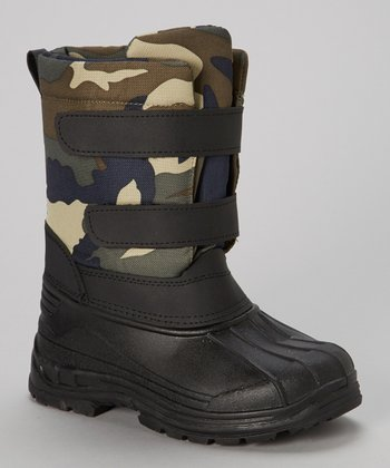 Camo Snow Boot - Kids