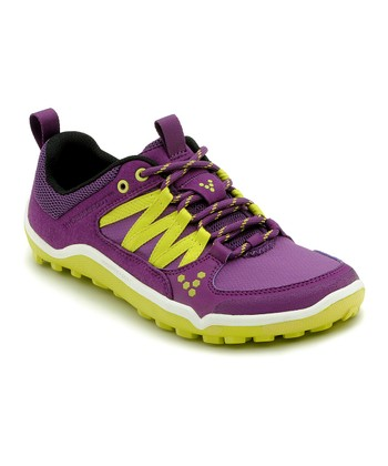 Aubergine & Yellow Running Shoe - Women