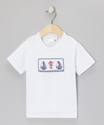 White Sailing Ship Tee - Infant, Toddler & Boys