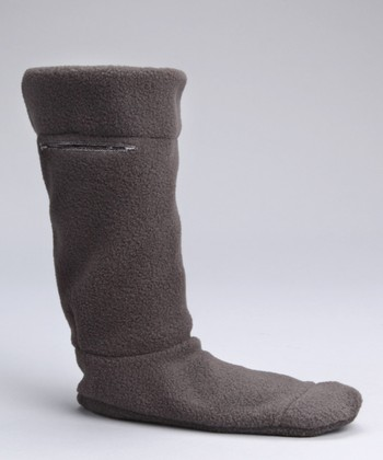 Charcoal Fleece Boot Liner