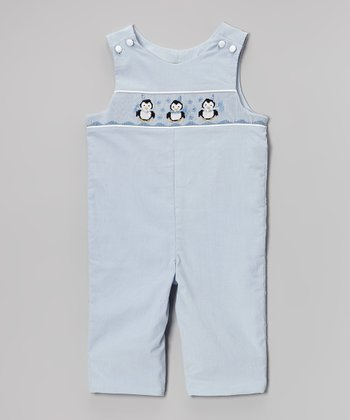 Blue Penguin Corduroy Overalls - Infant & Toddler