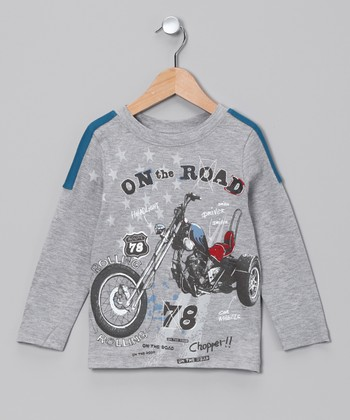Heather Gray 'On the Road' Tee - Infant, Toddler & Boys