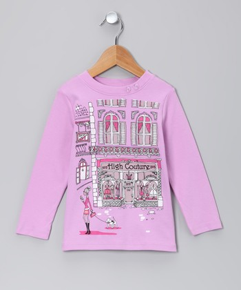 Lilac 'High Couture' Tee - Toddler & Girls