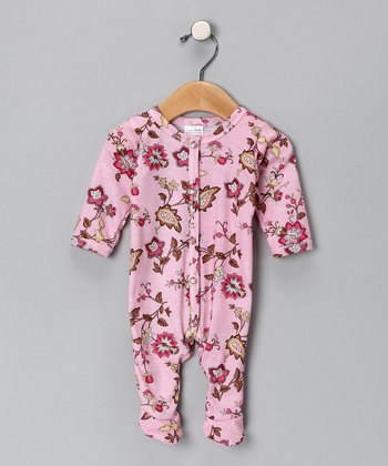Pink Kenze Footie - Infant