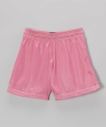 Fit 2 Win Sportswear Pink Mesh Nantucket Shorts - Girls