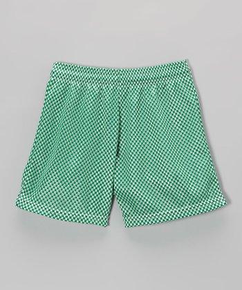 Fit 2 Win Sportswear Forest Mesh Nantucket Shorts - Girls