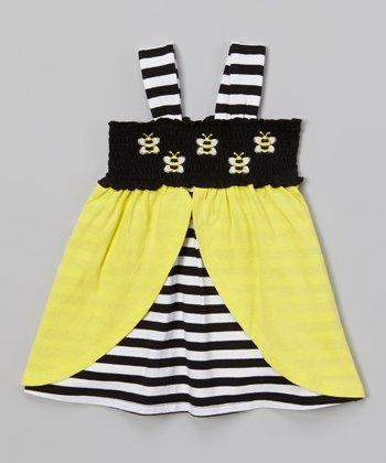 Black & Yellow Bumblebee Dress - Infant & Toddler