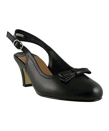 Black Coyote Slingback