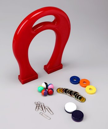 Hands On Series Giant Horseshoe Magnet Kit