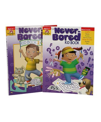 The Never-Bored Kid Books Ages 6-7 Workbook Set
