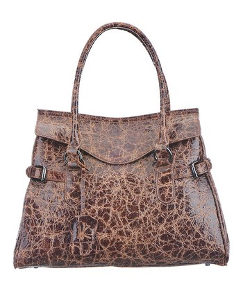 Brown Claire Satchel