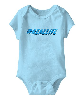 Aqua '#RealLife' Bodysuit - Infant