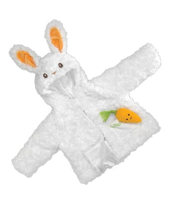 Bunny Coat & Carrot Plush Toy - Infant