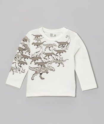 Vanilla Dino Tee - Infant, Toddler & Boys