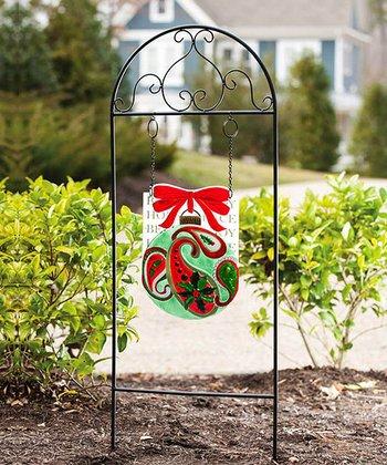 Holiday Paisley Garden Sign