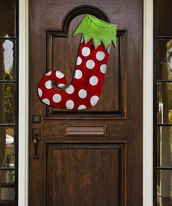 Whimsical Stocking Door Hanger