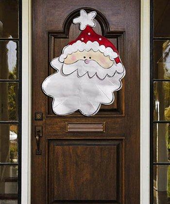 Jolly Saint Nick Door Hanger