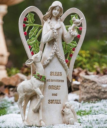 'Bless All Creatures' Angel Statue