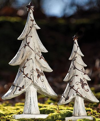 Nature's Promise Christmas Tree Statue Set