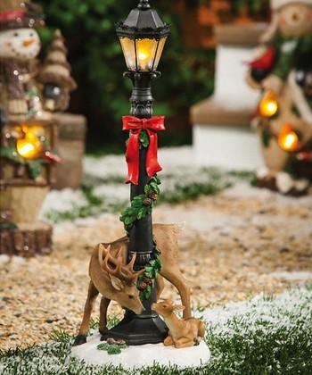 Woodland Lamppost Figurine