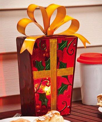 Winter Wonderland Present Lamp