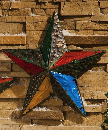 Holly Jolly Star Wall Décor