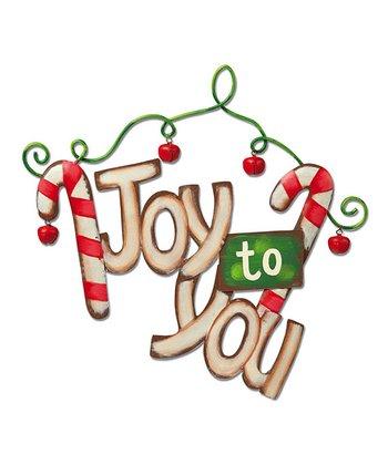 'Joy to You' Wall Décor