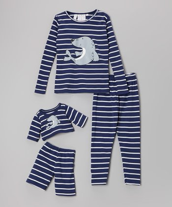 Blue Seal Pajama Set & Doll Outfit - Girls