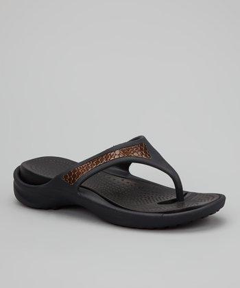 Black Copenhagen Sandal - Women